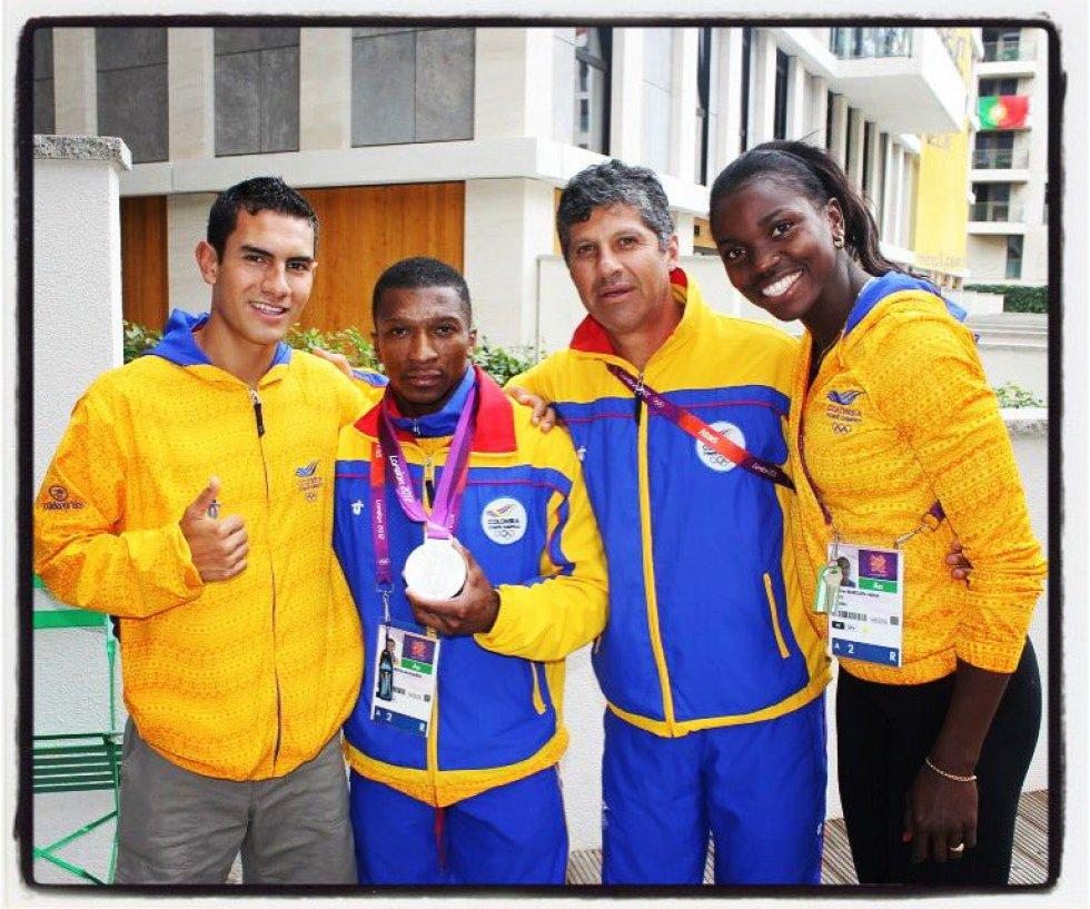 Tras fallecer Rozo, en enero de 2012, un golpe duro para el joven, como él mismo lo asegura, Arévalo compite en los Juegos Olímpicos, y queda en la posición número 20.