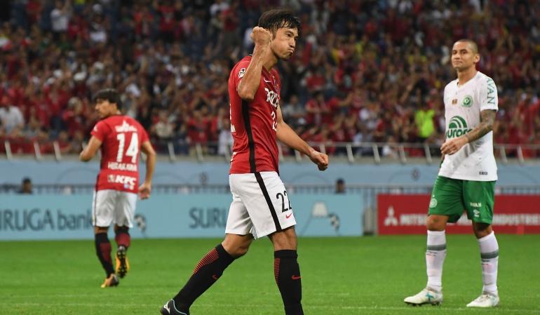 Chapecoense cayó en la Copa Suruga Bank