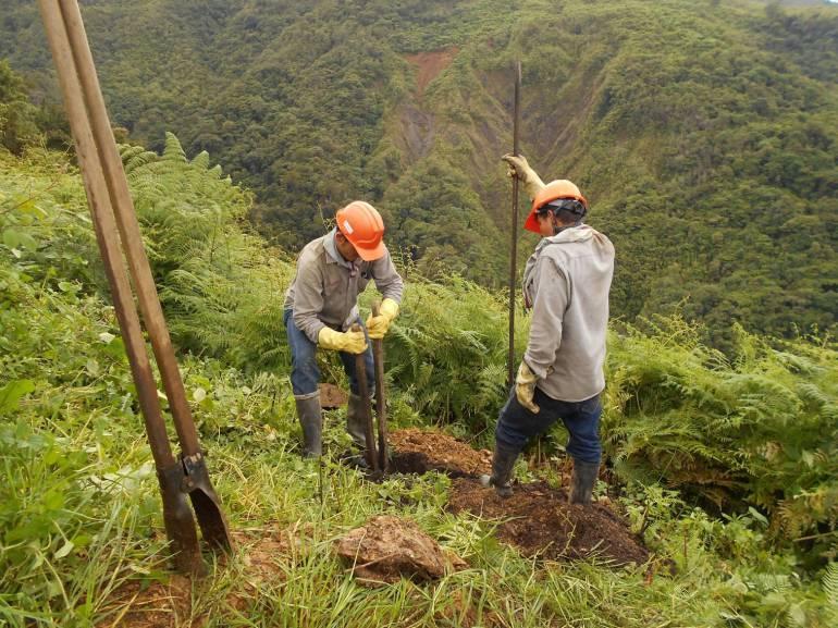 Colombia se beneficia con la instalación de postes de fibra de vidrio