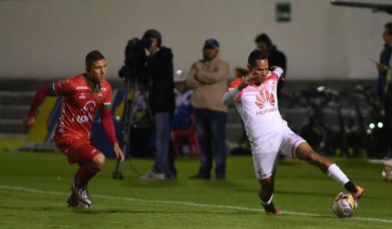 Santa Fe empató sin goles en su visita a Patriotas