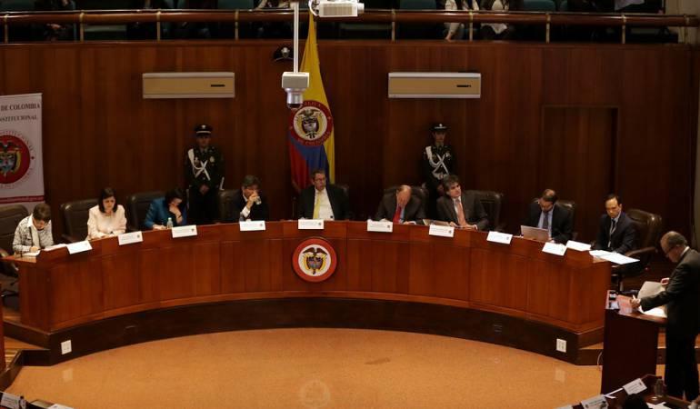 Corte Constitucional reforma rural: Inician audiencias de reforma rural en la Corte Constitucional