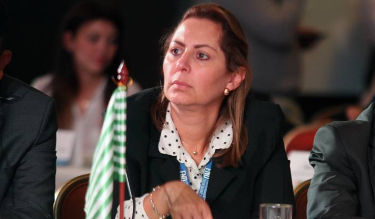 Marcela Amaya, gobernadora del Meta.