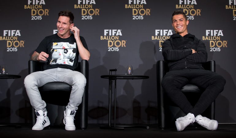 The Best Cristiano y Messi: Cristiano y Messi encabezan la lista de candidatos a The Best