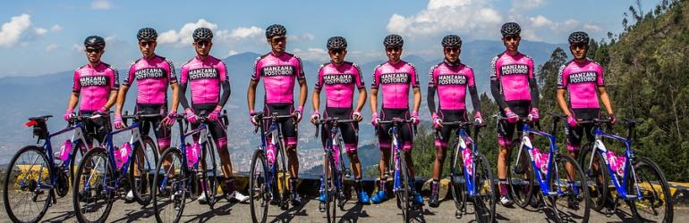 Manzana Postobón ciclismo Vuelta a España: Colombia vuelve con un equipo a la Vuelta a España después de 25 años