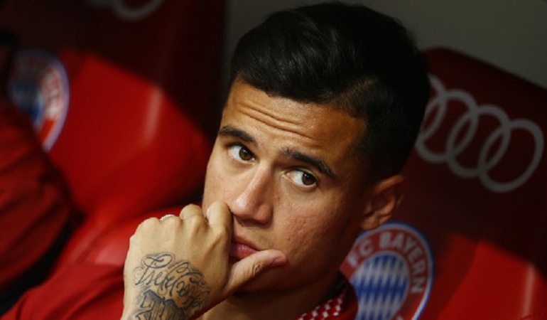 Liverpool rechaza 125 millones de euros al Barcelona por Coutinho