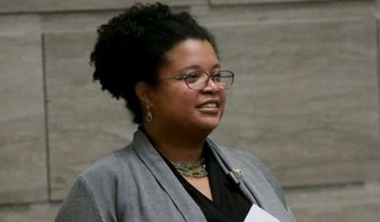 La demócrata Maria Chappelle-Nadal, legisladora en el Senado de Misuri.