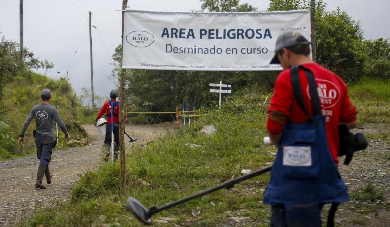 Víctimas por minas antipersona: En Colombia se registran 11.495 víctimas por minas antipersona