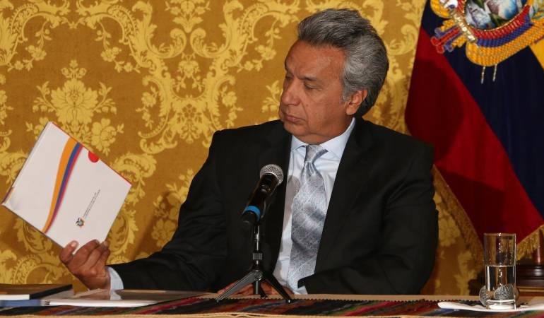 Presidente de Ecuador aceptó renuncia de su embajador en Venezuela