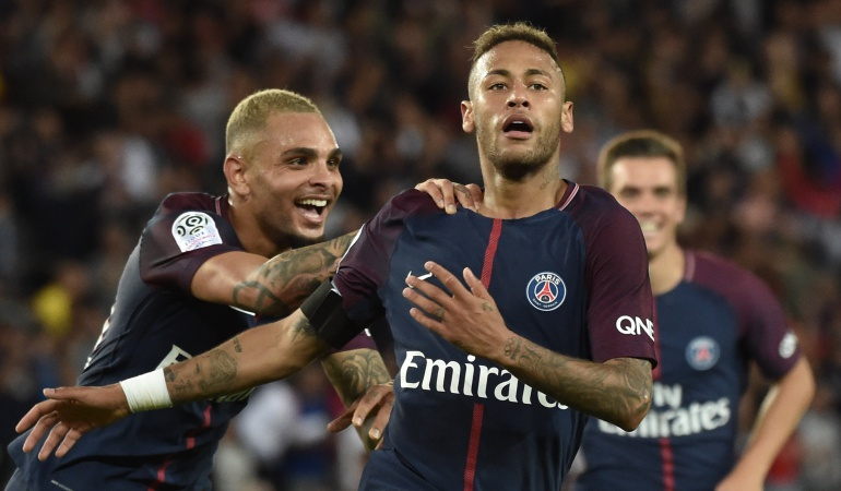 Neymar: Neymar lidera la goleada del PSG sobre el Toulouse