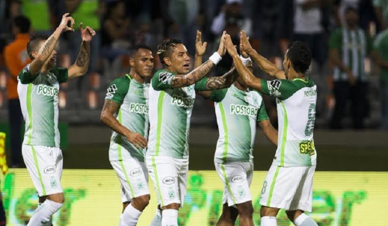 Atlético Nacional: Atlético Nacional golea a Alianza y se mantiene en lo alto de la tabla