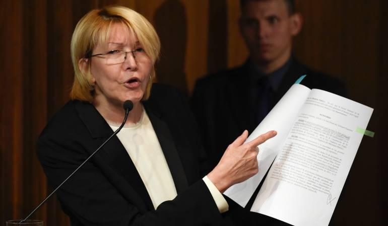 La ex fiscal Luisa Ortega está