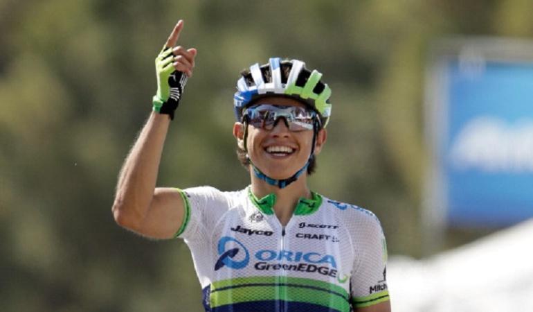 Vuelta España: Llegar en el grupo de la general es un buena señal para el futuro: Chaves