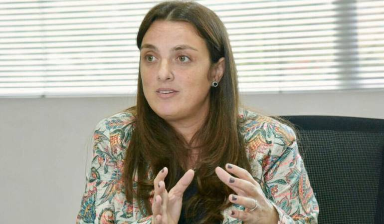 Karen Abudinen, directora del ICBF
