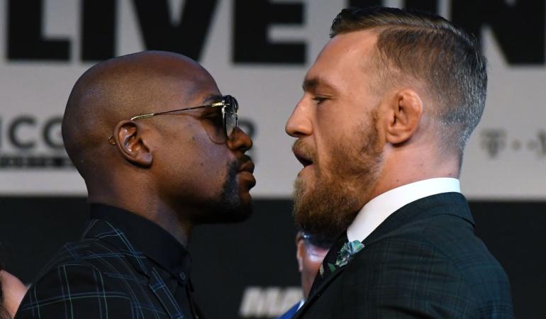 Mayweather y McGregor insultos: Mayweather y McGregor comparten insultos y siguen prometiendo el triunfo