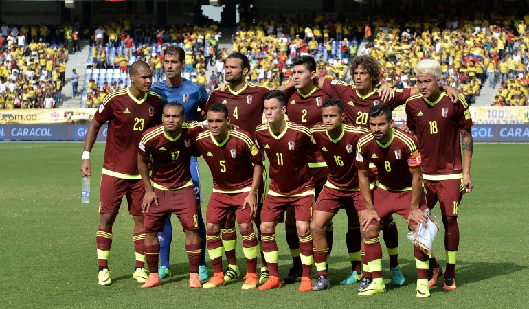 Venezuela da los convocados para enfrentar a Colombia