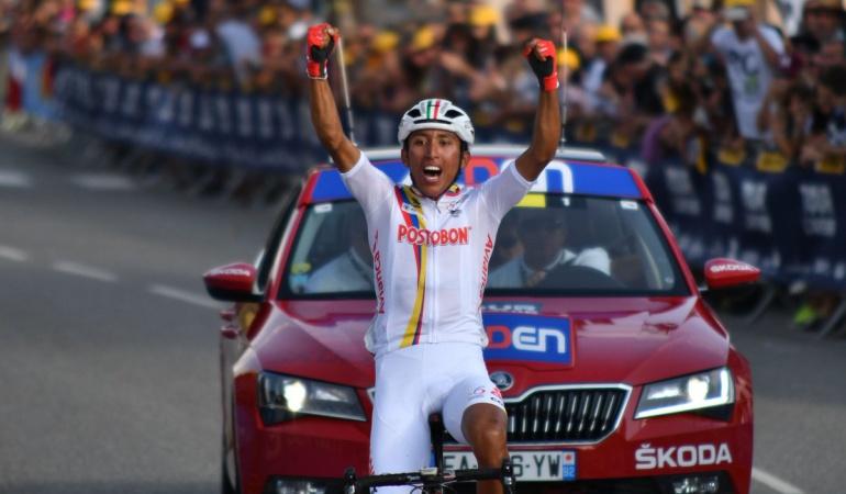 Egan Bernal afianzó su liderato en el Tour de L'Avenir