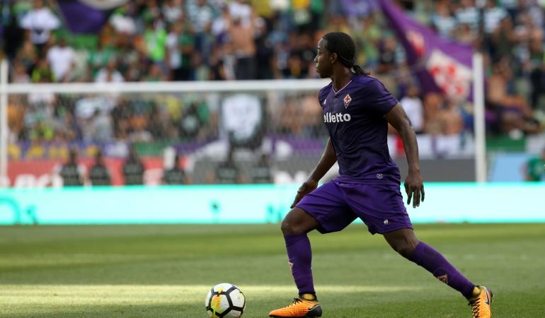 Carlos Sánchez está listo para jugar con la Fiorentina