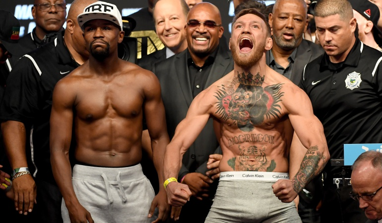 Mayweather y McGregor, sin problemas con el peso