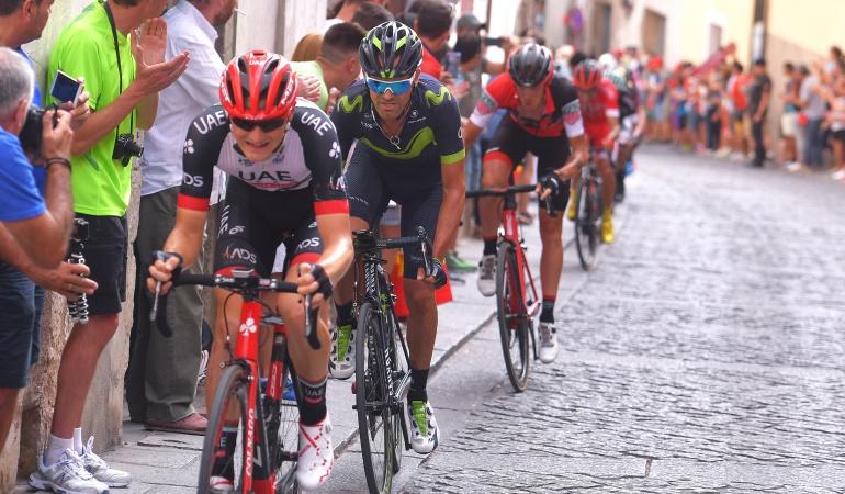 Vuelta a España: Miguel Ángel López se destaca en la etapa 8