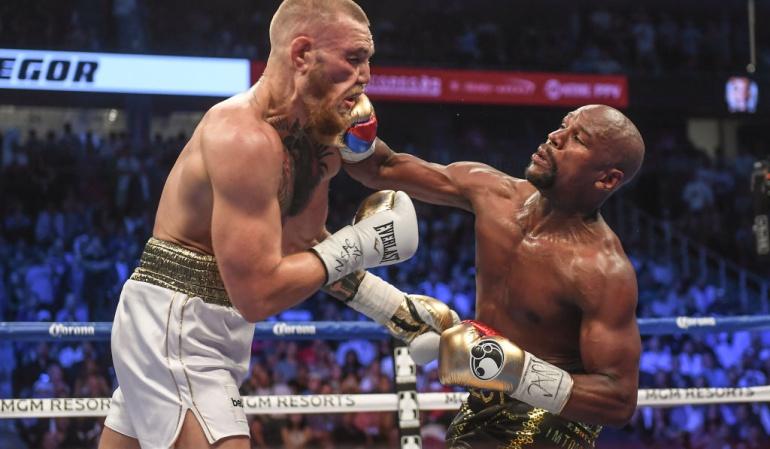Mayweather McGrego nocáut técnico: Triunfó el boxeo: Mayweather entrenó con McGregor y lo venció por nocáut técnico