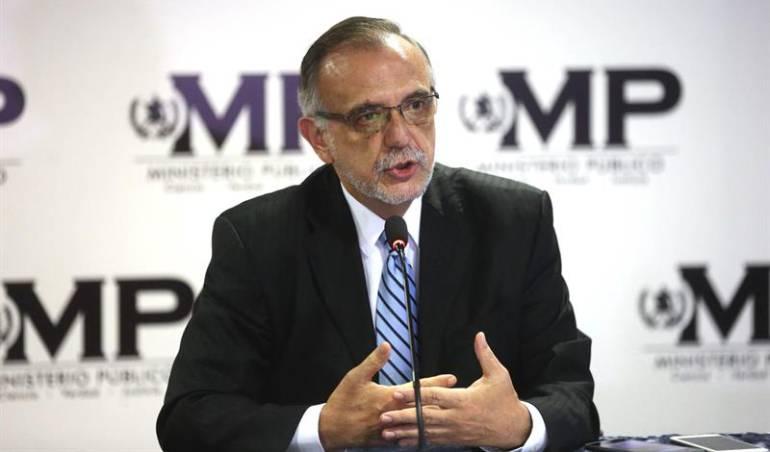 Jefe de la Comisión Internacional Contra la Impunidad en Guatemala, Iván Velásquez