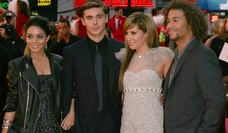 Vanessa Hudgens, Zac Efron, Ashley Tisdale y Corbin Bleu.