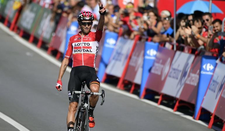 Vuelta a España: Marczynski se queda con la etapa 12; Froome salva el día a pesar de dos caídas