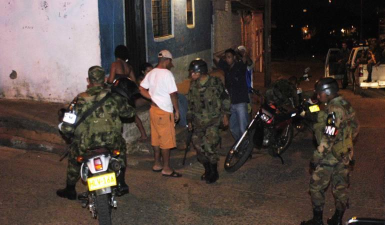 Mueren presuntos extorsionistas del Eln en operativo del Ejército: Mueren presuntos extorsionistas del Eln en operativo del Ejército