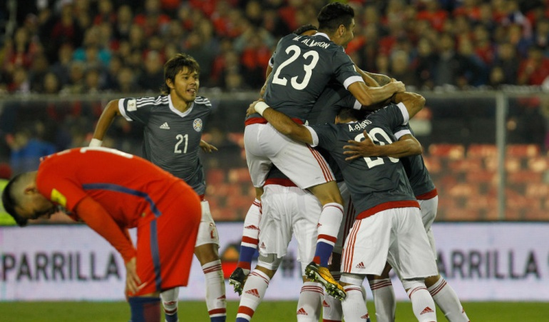 Chile 0-3 Paraguay: Paraguay sorprende a Chile en Santiago y revive en la Eliminatoria