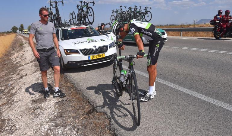 Retiro Omar Fraile Dimension Data 3 ciclistas: El español Omar Fraile se retira y el Dimension Data se queda con 3 ciclistas