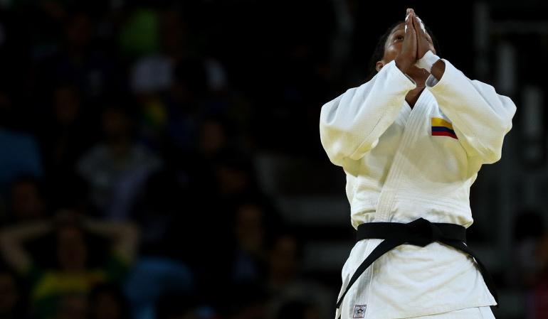 Yuri Alvear consigue medalla de bronce en mundial de Judo