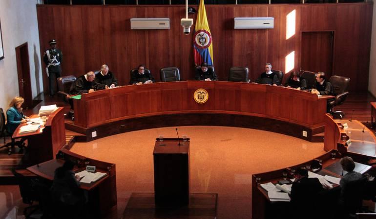 Cortes Supremas corrupción: Desfile de declaraciones en la Corte Suprema por caso de corrupción