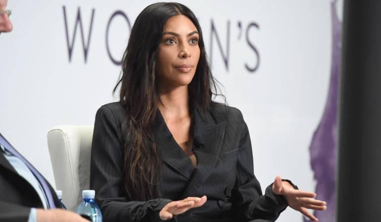 """Kim Kardashian: """"Mi hija sería mejor presidente que Donald Trump"""": Kim Kardashian"""