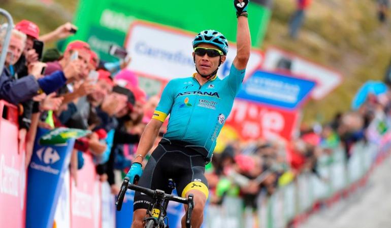 Superman López gana etapa 15: ¡'Superman' voló!: López se queda con la victoria en la etapa 15 de la Vuelta