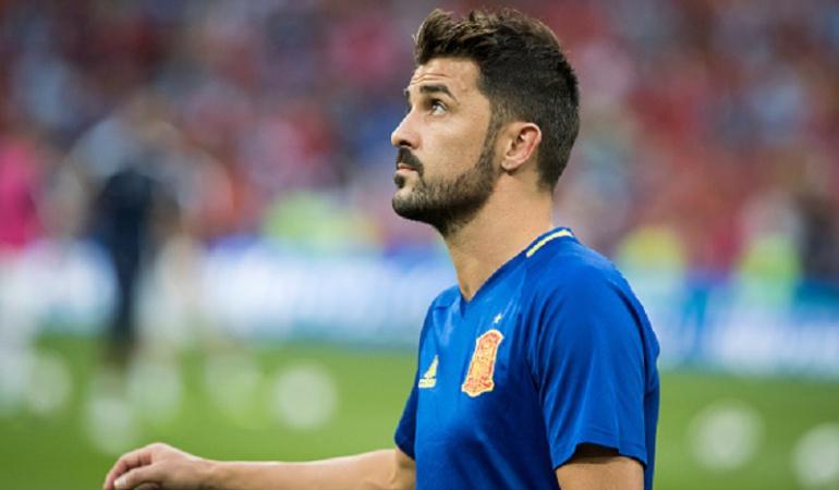 España: Villa se lesionó y será baja para el partido contra Liechtenstein