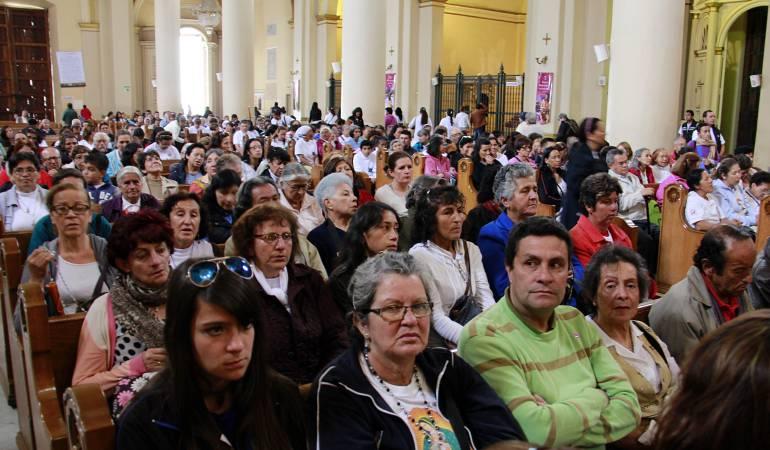 Católicos. Imagen de referencia.