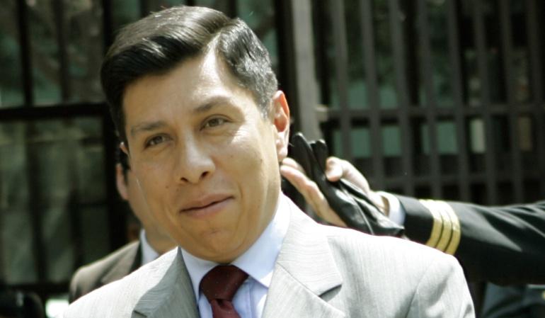 El secretario general de la Comunidad Andina (CAN), el boliviano Walker San Miguel.