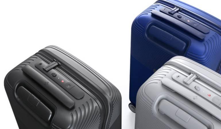 Las maletas inteligentes Bluesmart