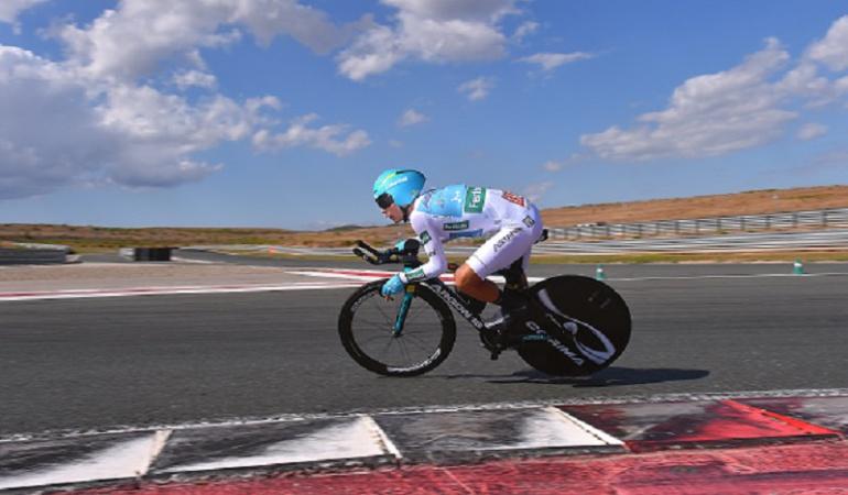 Vuelta España: Las diferencias han sido muy grandes: Miguel Ángel López