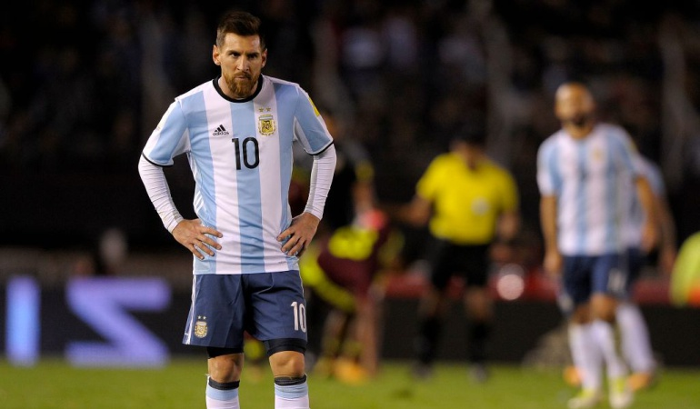 Venezuela 1-1 Argentina: Argentina rescata un punto ante Venezuela y se mantiene en repechaje