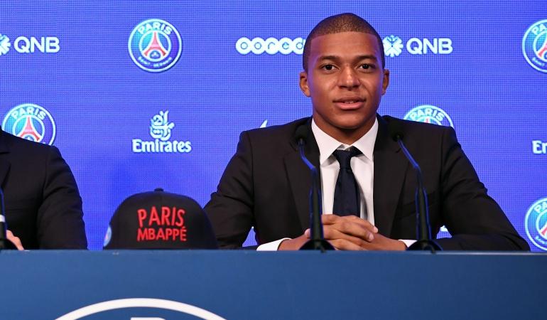 Problema con el Mónaco llevó a Mbappe a Fichar con el PSG