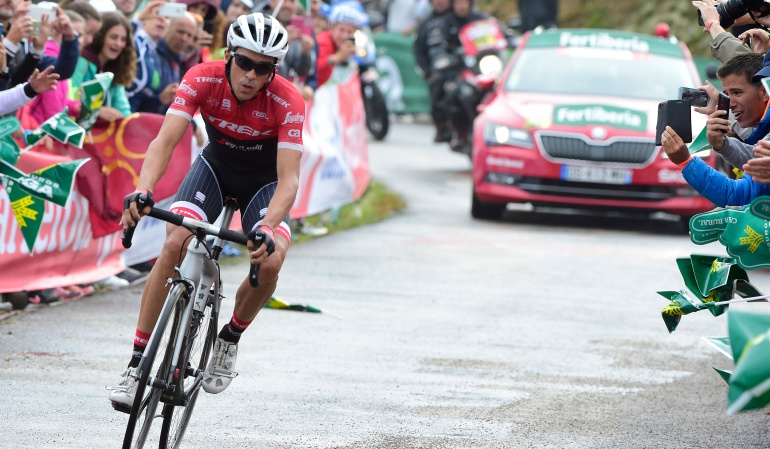 Vuelta España Alberto Contador: A ver quien ataca con la misma convicción que yo: Alberto Contador