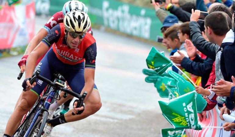 Vincenzo Nibali hay carrera Vuelta a España: Hay carrera: Vincenzo Nibali