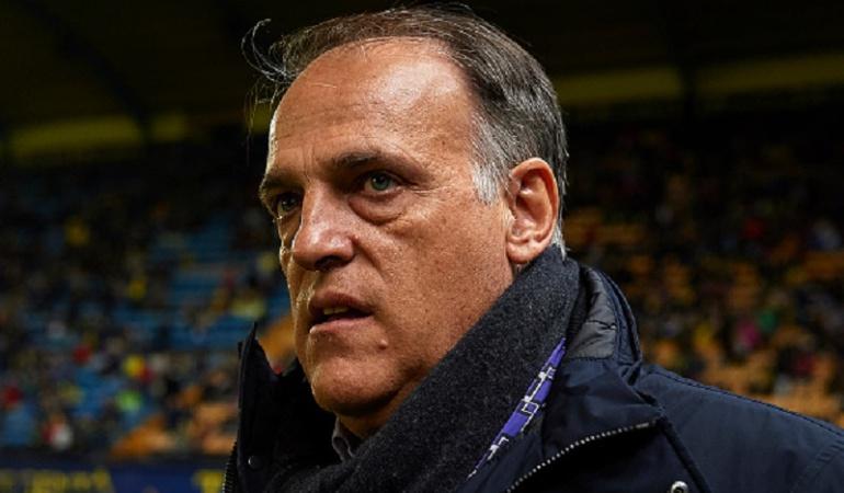 Manchester City presidente Liga: Manchester City tomará medidas contra el presidente de la Liga de España