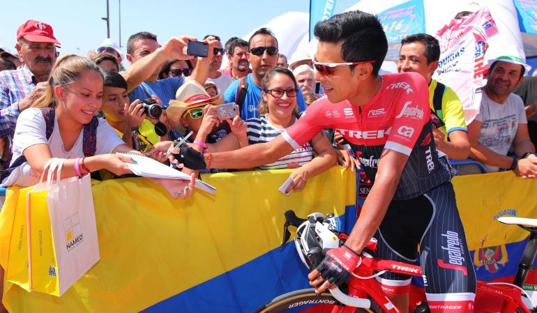 Etapa 19 Vuelta a España: Jarlinson Pantano fue segundo en la etapa 19 y todo está igual en la General