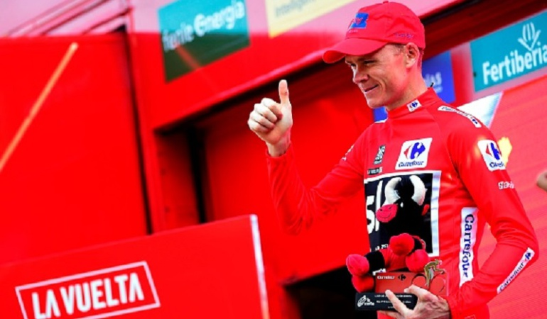 Lo importante es defender esta camiseta: Chris Froome