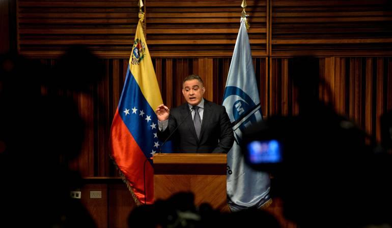 Fiscal general de Venezuela anuncia reapertura de caso Odebrecht