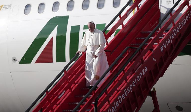 En vivo visita del papa Francisco: Así ha sido el minuto a minuto del papa por Colombia