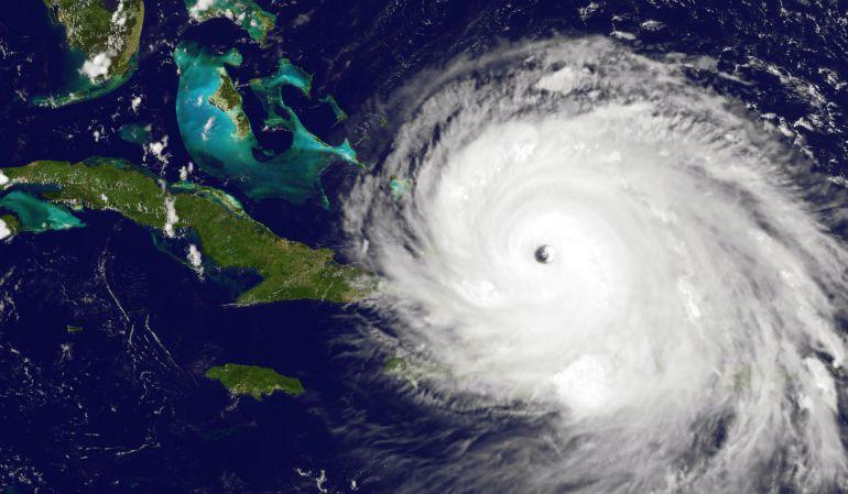 El paso del huracán Irma.