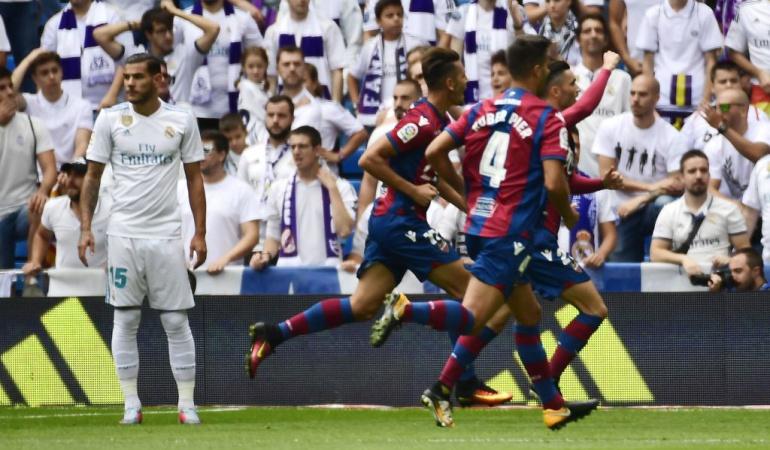 Real Madrid 1-1 Levante Liga Santander: Real Madrid no puede con el Levante y vuelve a ceder puntos en el Bernabéu